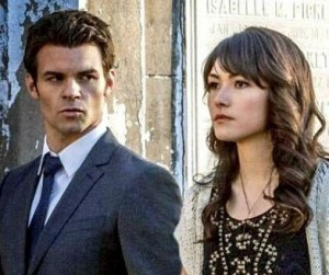 elijah et Sophie The originals photo