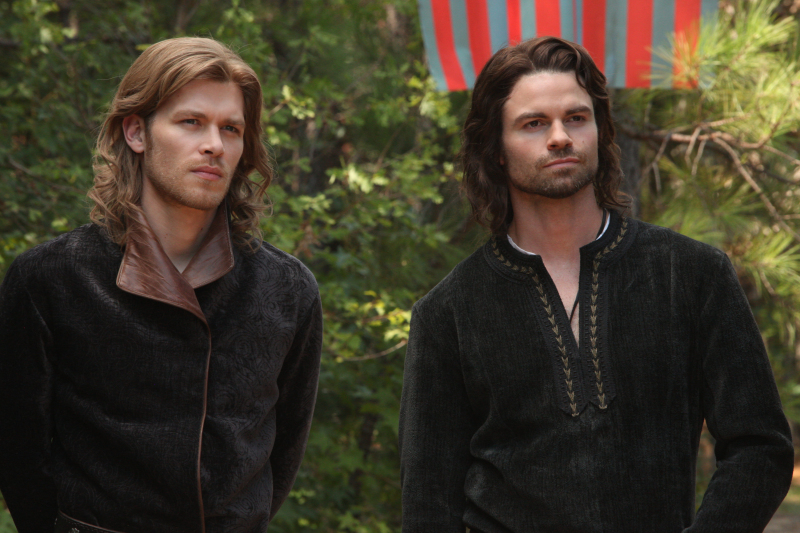 TVD - The Five - Klaus & Elijah