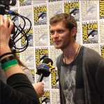 comic con joseph morgan red carpet