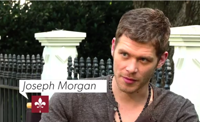 Capture Joseph Morgan interview cw atlanta