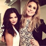 TVD 100e Party Danielle Campbell & Leah Pipes