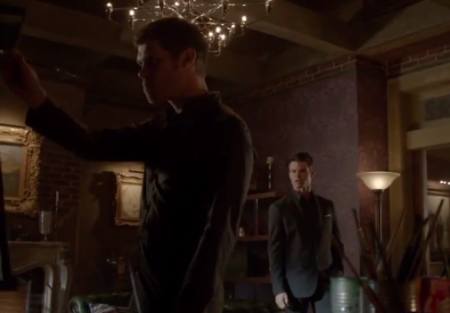 Capture producer's preview 1x17 Klaus Elijah