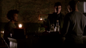 Résumé de l'épisode 19 saison 1  An Unblinking Death Marcel Josh Diego