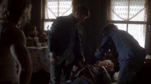 Résumé de l'épisode 19 saison 1  An Unblinking Death jackson eve