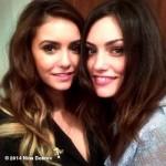 CW upfronts 2014 - Nina et Phoebe