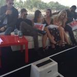 comic con 2014 cast tvguide boat