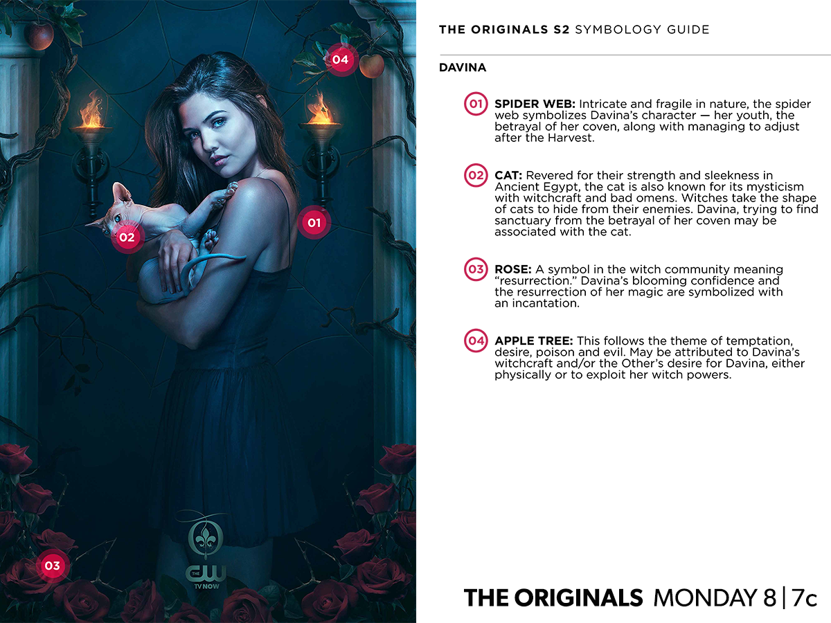 The_Originals_CW_Poster_saison2 Davina symboles