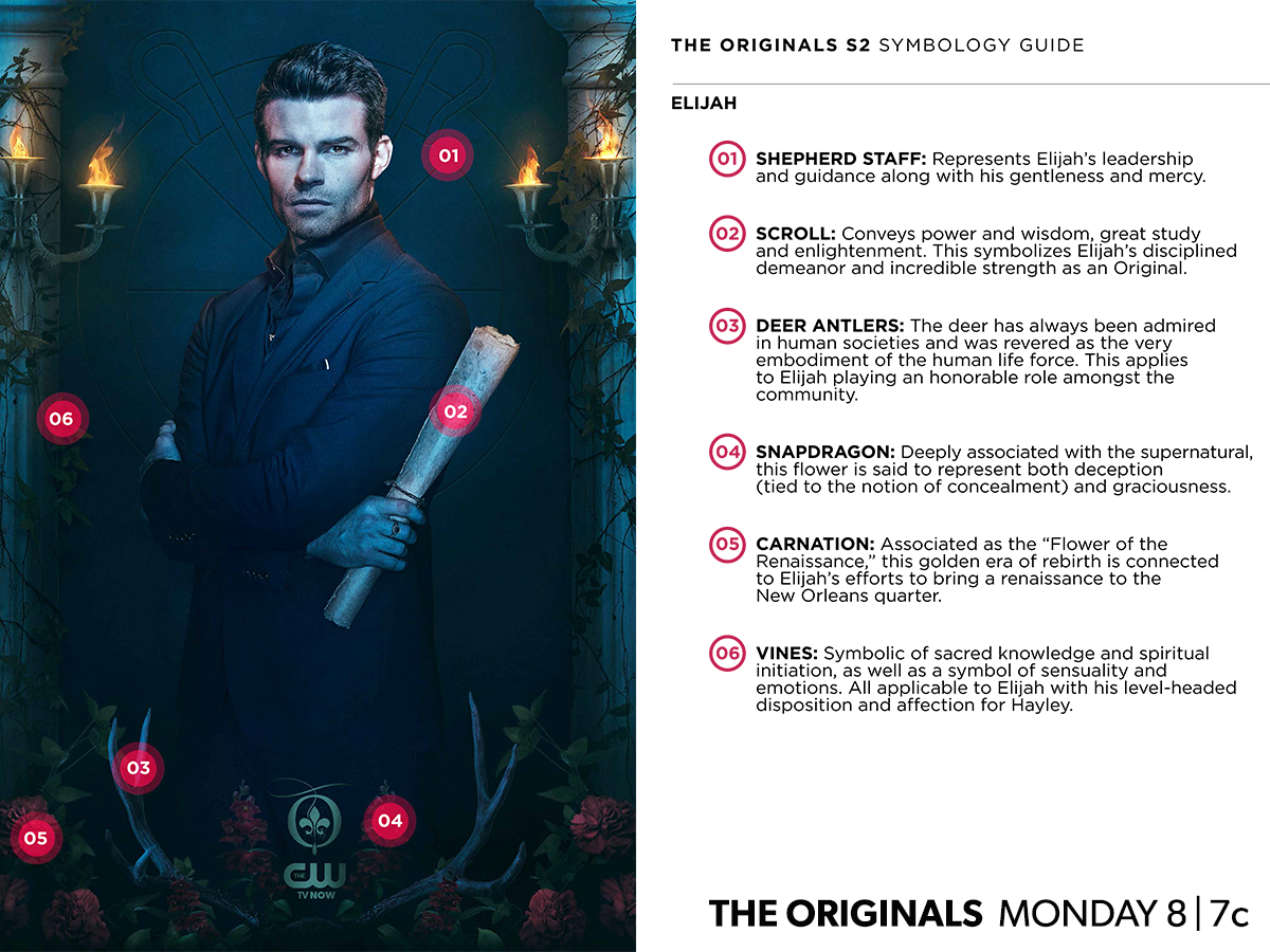 The_Originals_CW_Poster_saison2 Elijah symboles