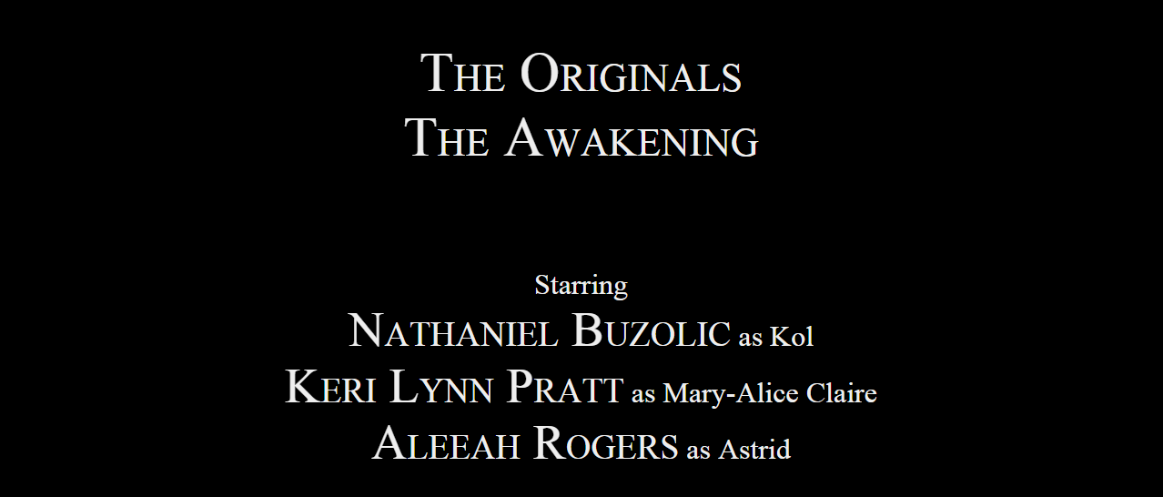 The Awakening credits