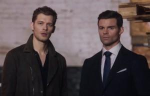 Capture 3x10 promo - Klaus et Elijah